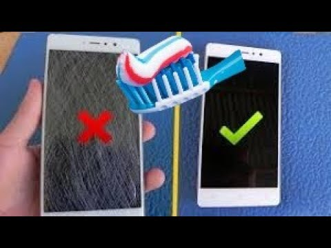 How to Remove Scratches/Scuffs off Your Phone/Any Screen