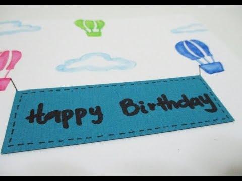 DIY : #199 Birthday Card ❤
