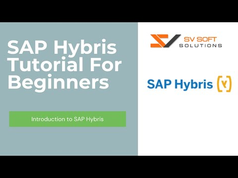 SAP Hybris Tutorial For Beginners | Introduction to SAP Hybris