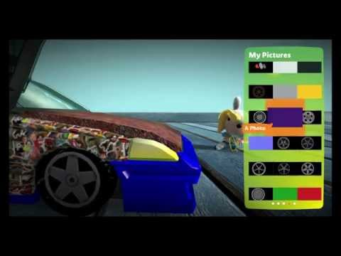 How to Rice up your car on Little Big Planet 3