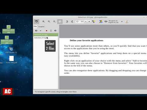 Convert Image to Text on Linux Mint Cinnamon