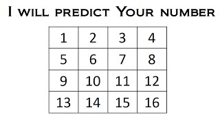 I Will Predict Your Number - Math Magic Trick