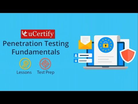Penetration Testing Fundamentals Pearson uCertify Course and Labs