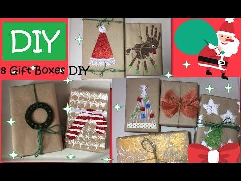 DIY Gift Box DIY Christmas Boxes  #49