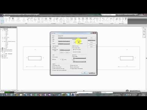Revit 2014 - Create Custom PDF Sheet Size