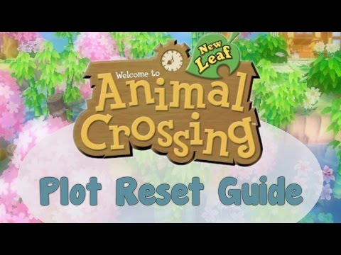 How to Place Villagers' Houses in Animal Crossing: New Leaf (Plot Reset Trick)