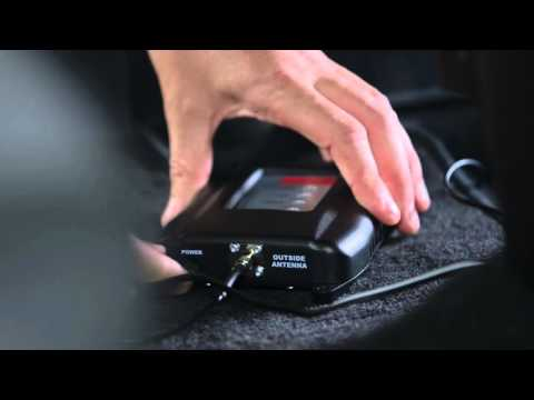weBoost Vehicle Installation of Signal Booster