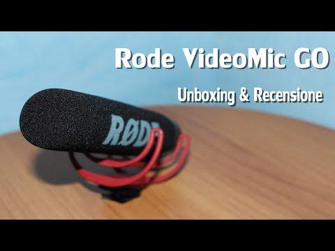 Røde VideoMic GO - 📦 Unboxing & Recensione