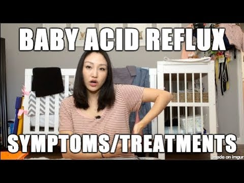 UPDATE! * Tips for Baby Acid Reflux & Silent Reflux - Symptoms & Treatments