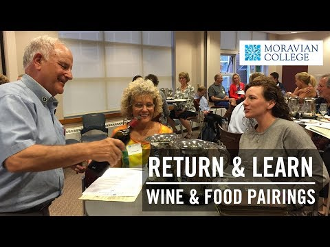 Return and Learn: Wine and Food Pairings