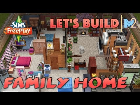 Sims FreePlay - Let's Build Another Family Home (Live Build Tutorial)