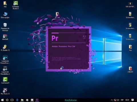 Descargar e Instalar Adobe Premiere Pro CS6 (64 Y 32 bits) Mega