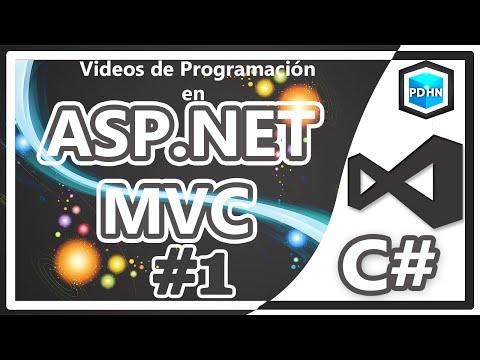 Curso de ASP NET MVC en C# Creando el primer controlador y vista #1