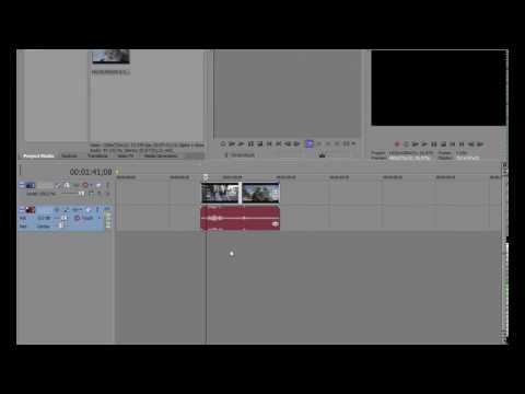 how cut video in sony vegas pro 11