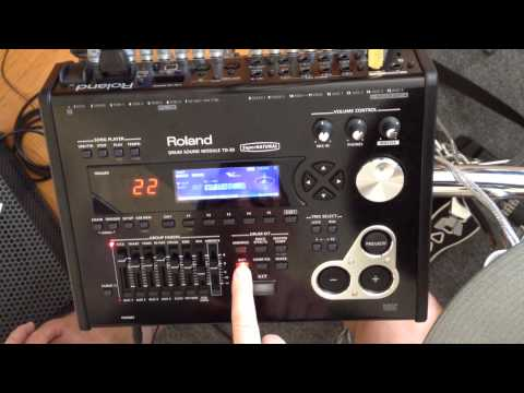 Assign Hi Hat Sound To Pad TD30
