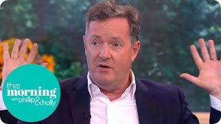 Piers Morgan Apologises for What He Said About Ariana Grande on Twitter | This Morning