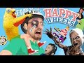 EMILY WANTS TO PLAY HAPPY WHEELS FGTeeV Fights A Chicken amp Plays 8 Games