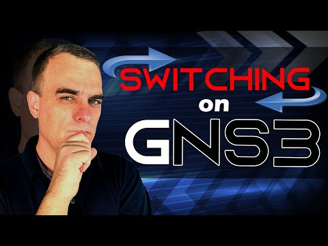 GNS3 -- How to set up switching in GNS3