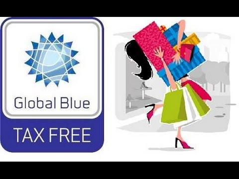 Global Blue Card. Tax free.