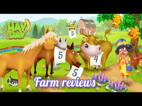 Hay Day Live - Design Reviews - (Live from 9am to 1pm)