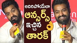 Jr NTR Superb Answers To Media Questions | Jr NTR Interaction With Media | #JaiLavaKusa | TFPC