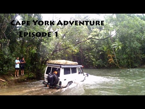 4x4 Cape York Adventure 2016: Episode 1 - Bloomfield Track