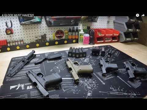 4 GLOCK CHEAP MUST HAVES!!!