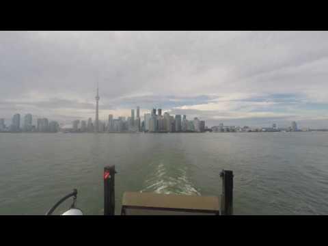 Toronto Islands Ferry to center island