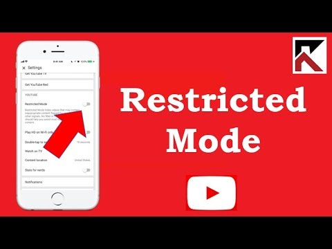 How To Enable Restricted Mode YouTube iPhone