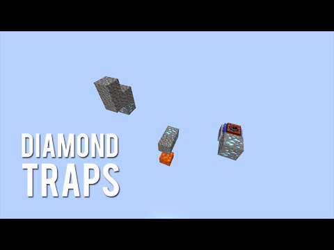 Minecraft: Diamond Traps [Tutorial]