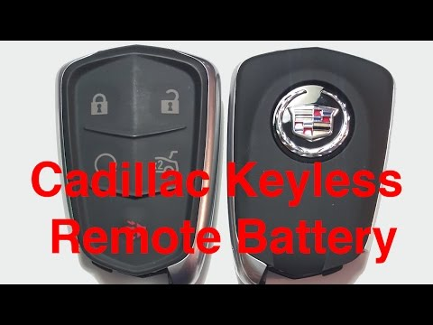 2014-2017 Cadillac Keyless Remote / Fob Battery Replacement