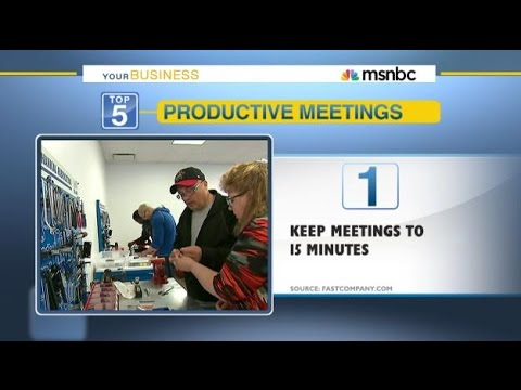 5 Ways To Make Your Business Meetings Quick and Efficient by OPEN Forum