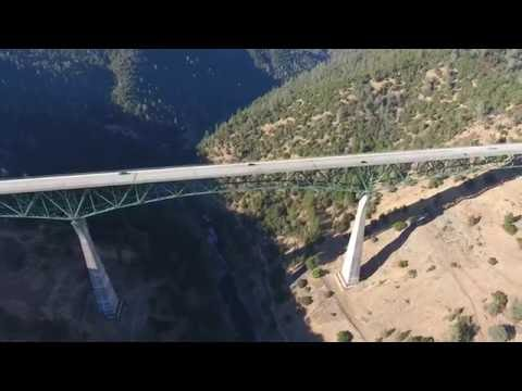 4K!!! The Second Highest Bridge In The World In 1973. One Of The 5 Highest Bridge In The USA