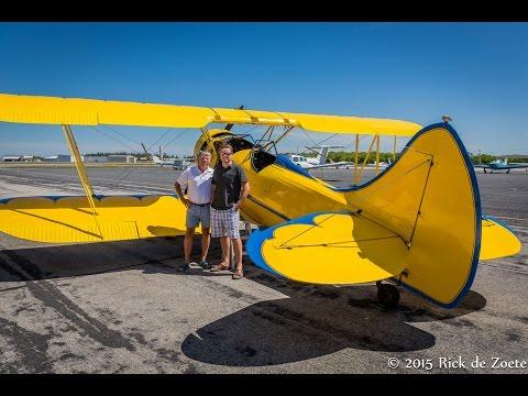 Flying around Ft  Myers, Captiva, Sanibel in a biplane