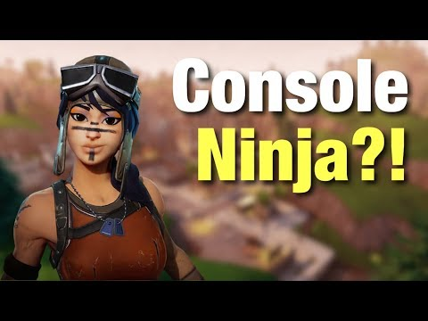 CONSOLE NINJA!?! -  PRO CONSOLE PLAYER! - 300+ Wins|Fortnite BR Gameplay