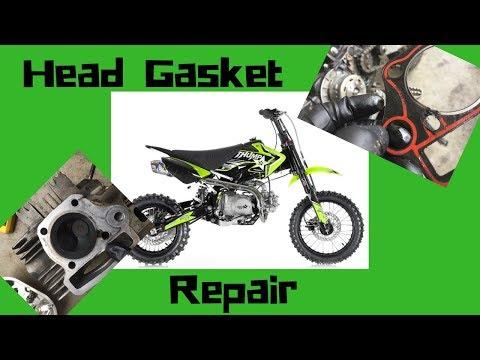 Pit Bike Head Gasket Repair