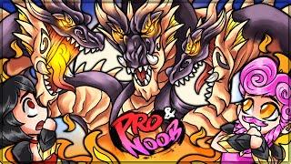ULTIMATE TRIPLE HEADED FATALIS - Pro and Noob VS Monster Hunter World Iceborne!