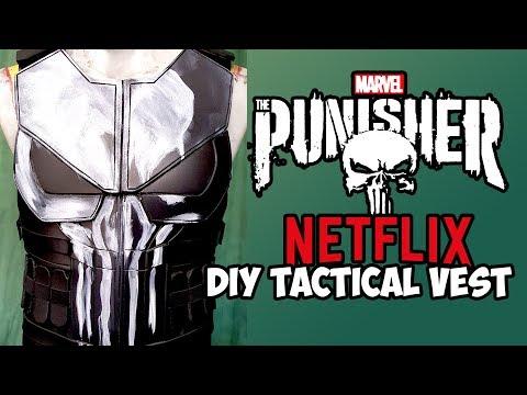 Punisher Netfix tactical vest How To DIY cosplay