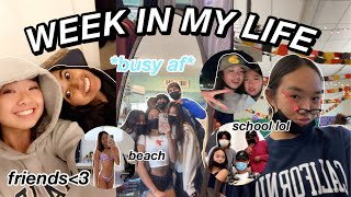 WEEK IN MY LIFE | school, friends, football game, & more! Nicole Laeno