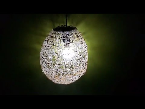 DIY Crafts: Hot glue Balloon Lamp | DIY Decorations