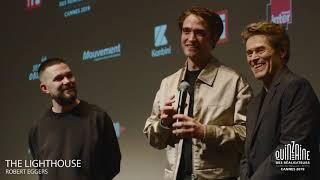 Q&A THE LIGHTHOUSE avec Robert Eggers, Robert Pattinson & Willem Dafoe