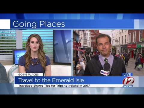 Travelzoo Broadcasting Live from the Emerald Isle