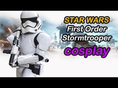Star Wars Cosplay: First Order Stormtrooper