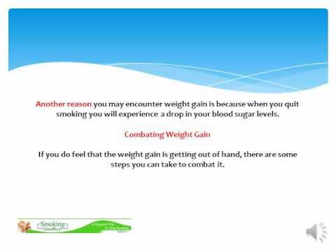Stop Smoking & Weight Gain