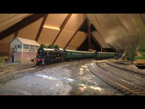 Electrical continuity testing after track relaying on my 'Eridge' model railway.