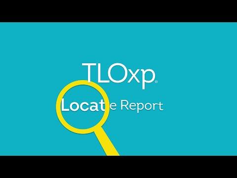 Locate Report - TLOxp
