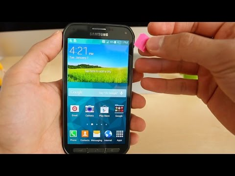 How To Unlock A Samsung Galaxy S5 Active - AT&T / SM-G900A / SM-G900T, AT&T, T-mobile, etc...