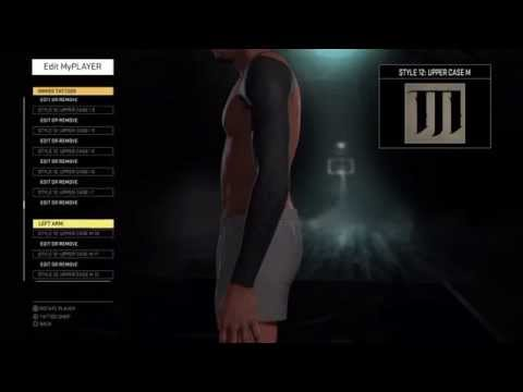 NBA 2K16 How To Have All Black Arms