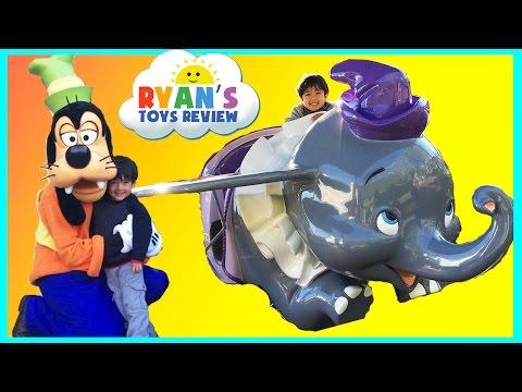 DisneyLand  Amusement Park for Kids and Roller Coaster Rides!