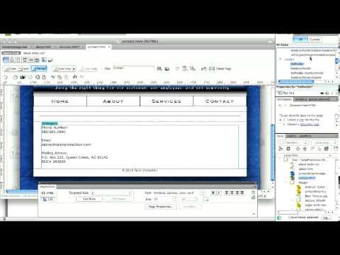 Attaching and Transferring CSS Styles in Dreamweaver CS4
